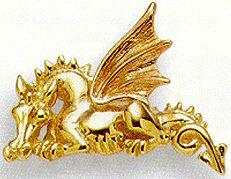 Welsh gold dragon
